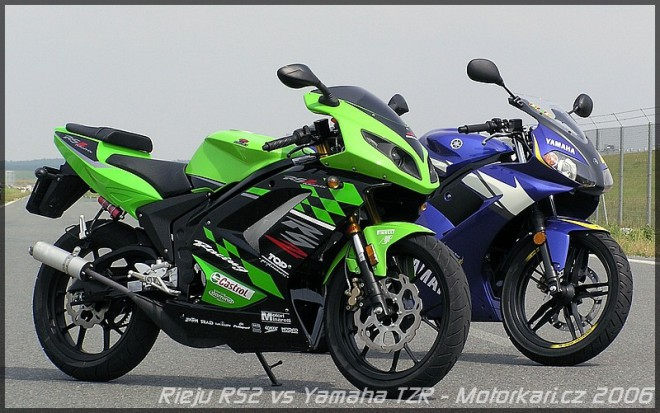 Rieju RS2 Matrix Pro vs. Yamaha TZR 50 Race Replica
