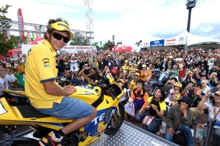 Rossi po GP Japonska velmi spokojený