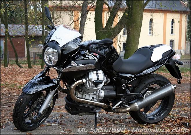 Moto Guzzi 1200 Sport - první dojmy