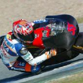 Jerez - testy tøíd 125 a 250 ccm 1.den