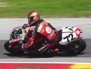 Larry Pegram na Ducati