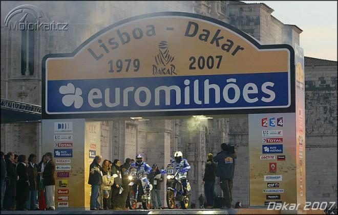 Dakar 2007, den 1-4