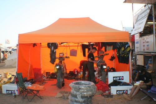 Dakar 2007 - etapy 5-10 od Vierky Kaštanové