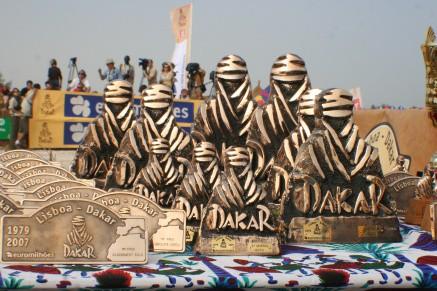 Rozhovory s jezdci Dakaru 2007