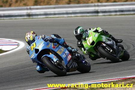 Rizla Suzuki MotoGP na Sepangu