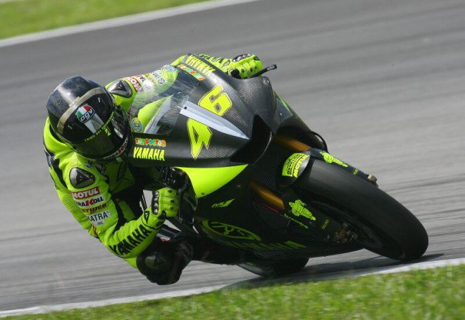 Yamaha a Rossi spoleènì až do roku 2008