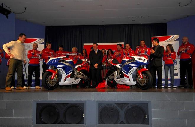Prezentace týmu D.F.Xtreme Honda