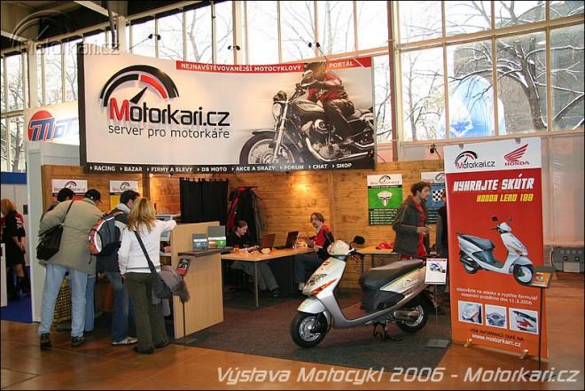 Výstava Motocykl 2007