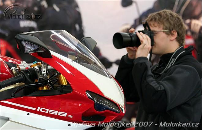 Výstava Motocykel 2007 v Bratislavì