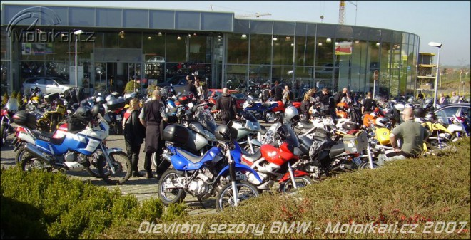 Otevírání sezóny v BMW