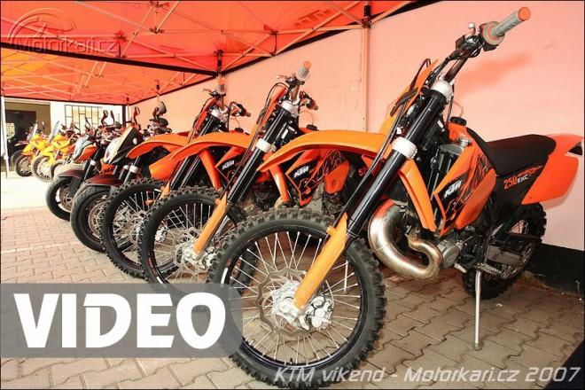 Videoreport� z KTM v�kendu