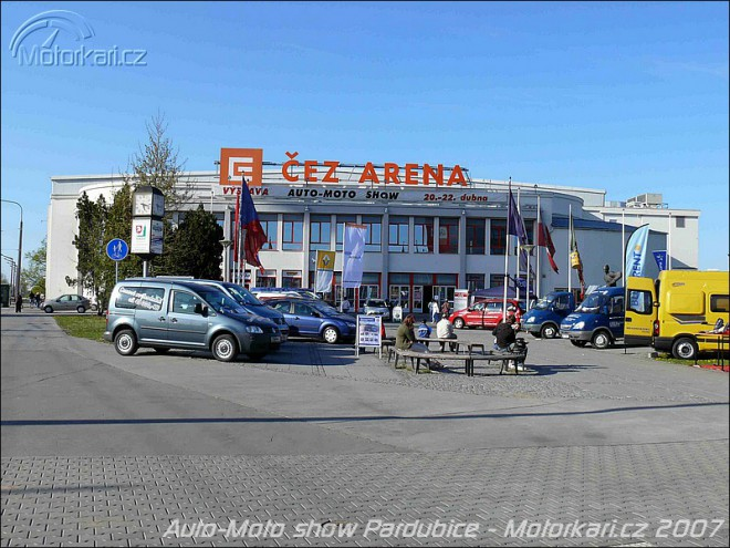 Auto-Moto show Pardubice