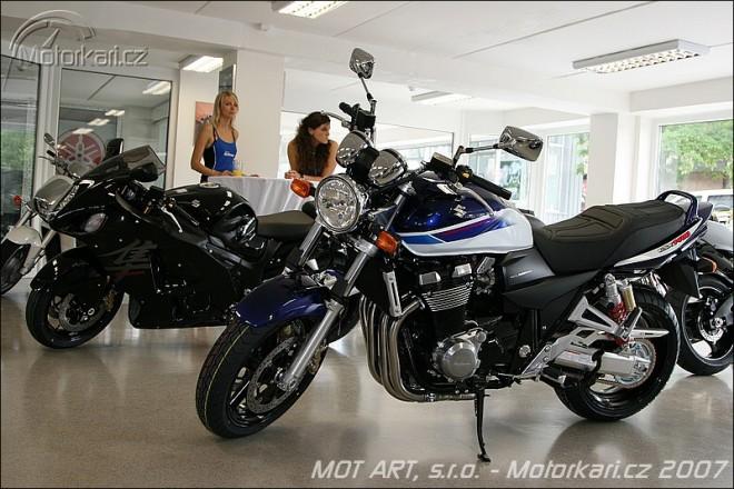 MOT ART - nové Suzuki v Bráníku