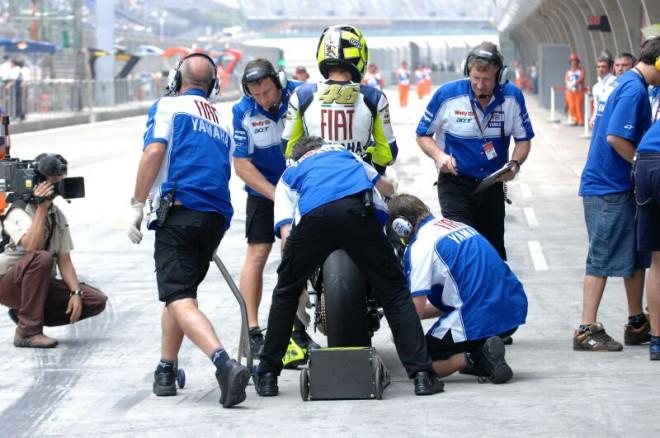 Fiat Yamaha Team po GP Èíny