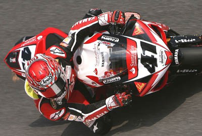 WSBK - Monza zavod 1. jizda