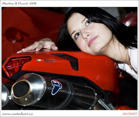 Martina & Ducati 1098