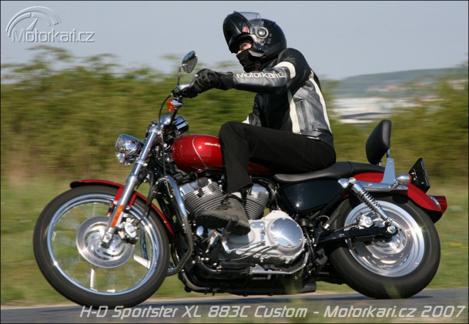 Harley Davidson Sportster 883C
