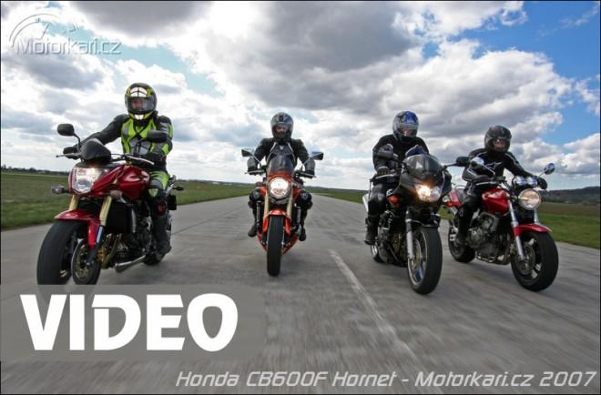 Modelová historie Honda CB600F Hornet