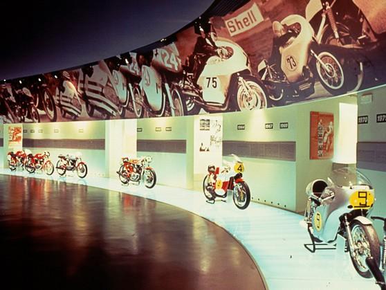 Virtu�ln� muzeum Ducati