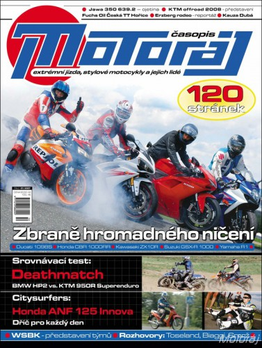Motoráj 7/2007 (120 stran)