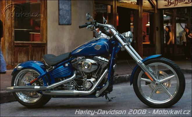 Harley-Davidson Rocker a další novinky 2008