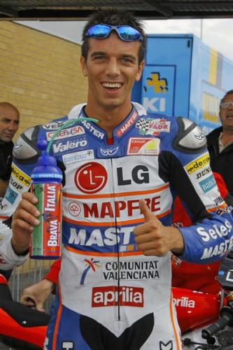Alex de Angelis do kubatury MotoGP v roce 2008