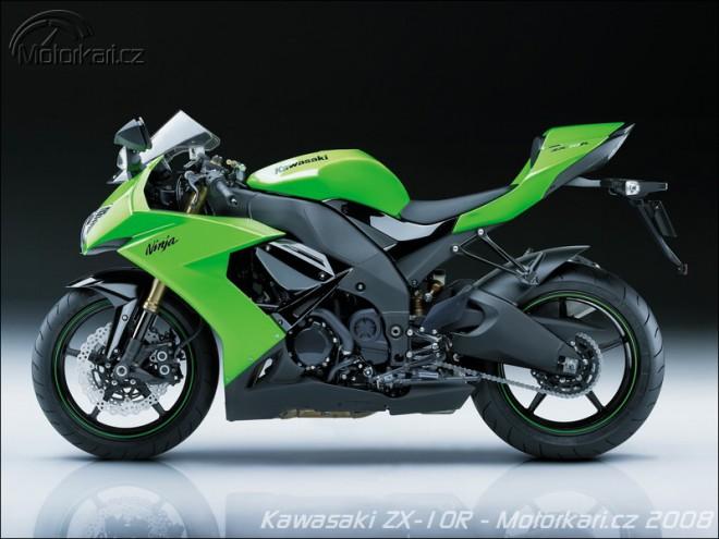 Kawasaki 2008: Nová ZX-10R, VN2000, KLX450R...