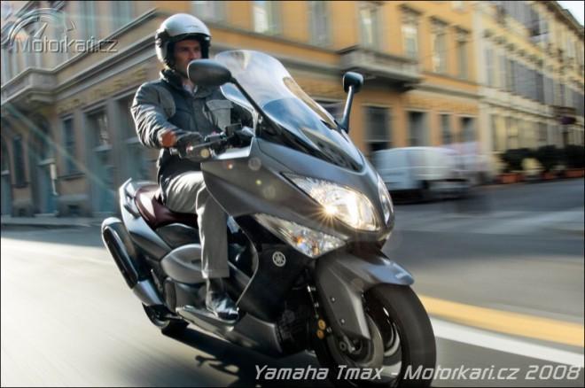 Nové skútry Yamaha 2008
