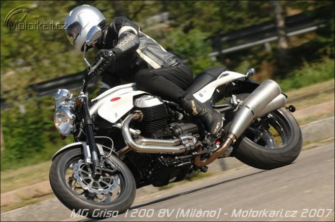 Moto Guzzi 1200 Griso8V v Milánì