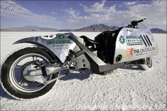 Rychlostní rekord BMW s motorem biodiesel