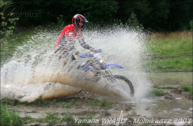 Yamaha WR450F 2trac