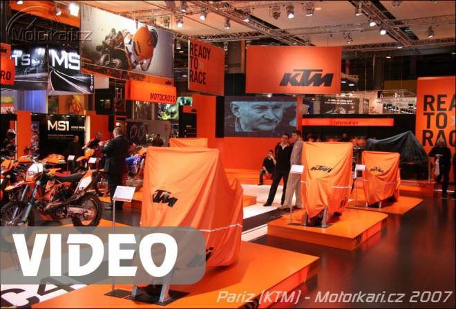 Paøíž: KTM + video