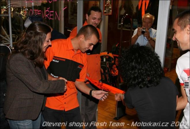 Otevøení KTM shopu na Vinohradech