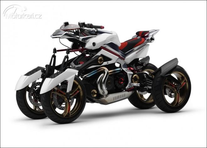 Hybridní koncept - Yamaha Tesseract