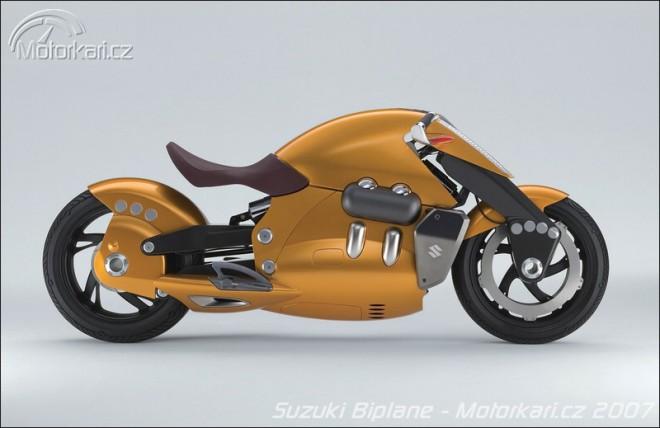 Koncepty Suzuki - Biplane a Crosscage