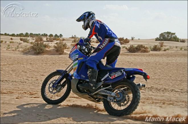 Martin Macek v továrním týmu na Dakar!