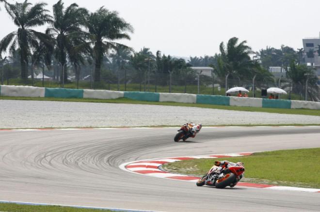 Statistiky tøídy MotoGP pøed GP Malajsie