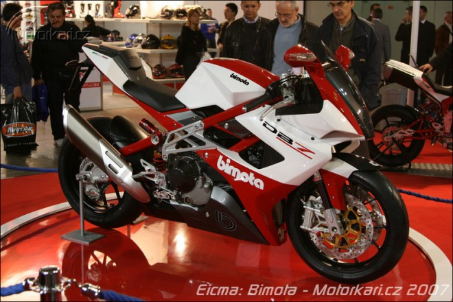 Miláno: Bimota + video