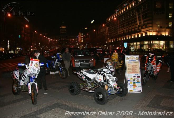 Èeské motocyklové týmy na Rallye Dakar 2008
