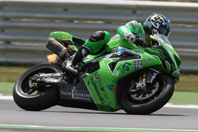 Vittorio Iannuzzo za Pedercini Kawasaki