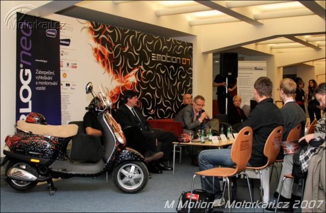 Výstava Mmotion 2007