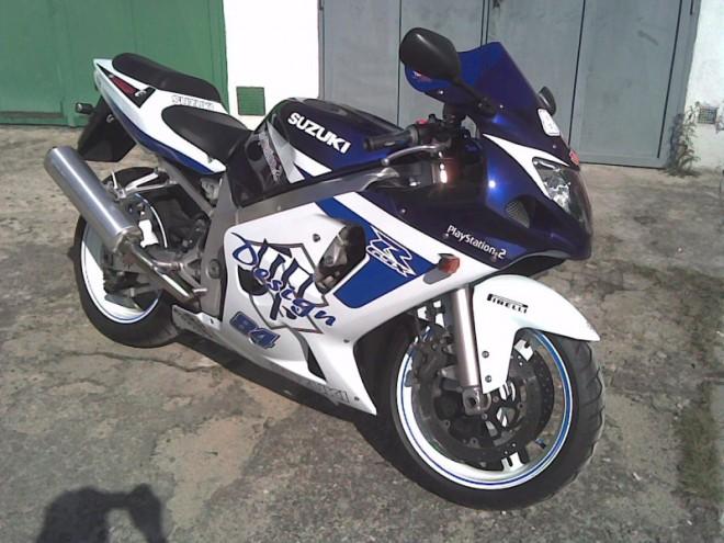 Ukradená Suzuki GSX-R 600