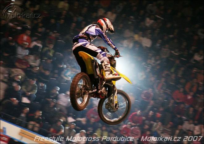 Freestyle motocross v Pardubicích