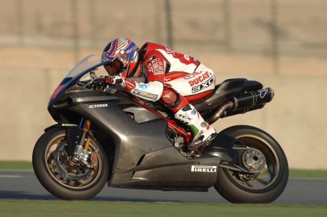 Nová Ducati 1098 F08 poprvé oficiálnì v Doha