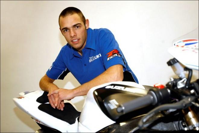 Van Keymuelen s tovární podporou Suzuki