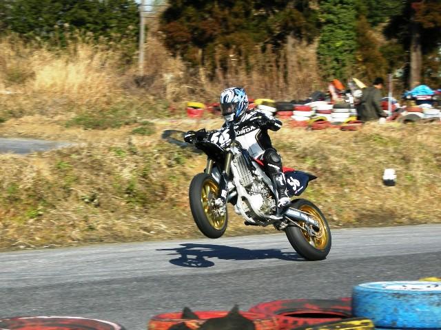 Shinya Nakano s motardem