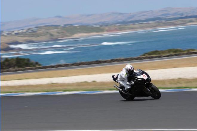 Také Suzuki opìt testovala na Phillip Islandu