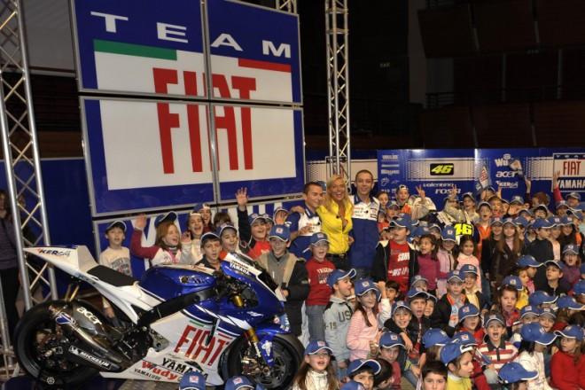 Tým Fiat Yamaha se pøedstavil v Turínì
