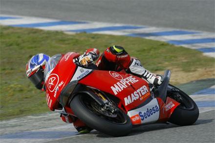 Jerez - testy 125 a 250 cc 2. den