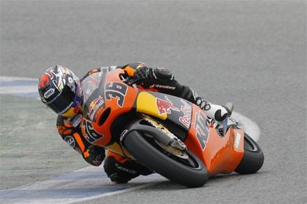 Jerez - testy 125 a 250 cc 3. den
